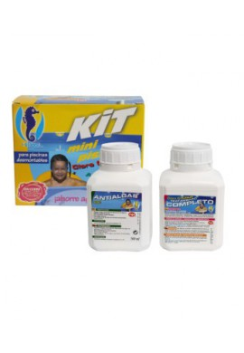 Kit Minipiscinas (Cloro + Antialgas)