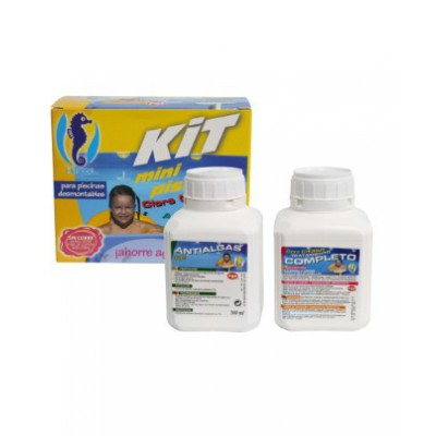 Kit minipiscinas hipool cloro antialgas for Antialgas piscina