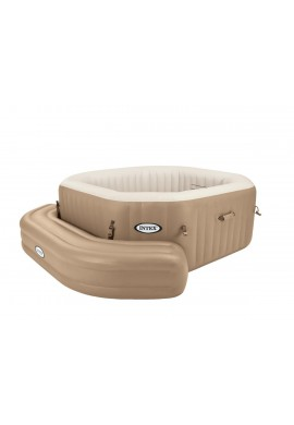 Banco hinchable Crema Spa Intex