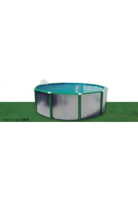PISCINA SILVER COLOR CIRCULAR